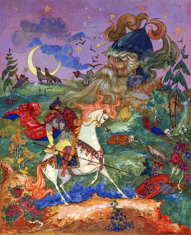 Руслан и людмила сказка в картинках